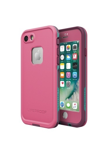 LifeProof Fre Apple iPhone 7 / 8 IP68 Su Geçirmez Kılıf Twilights Edge Pink Pembe